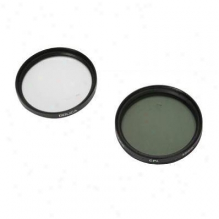 Dolica Corporation 67mm Uv & Cpl Filter Kit