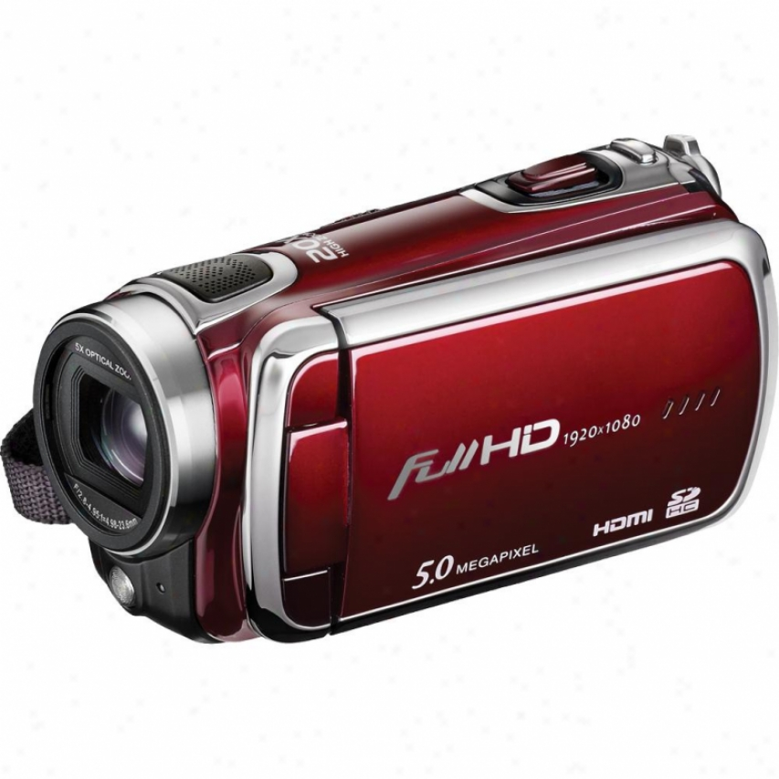 Dxg Usa Progear 1080p Hd Camcorder Red