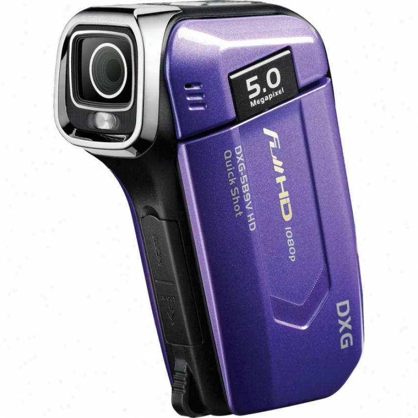 Dxg Usa Quickshots 1080p Hd Camcorder