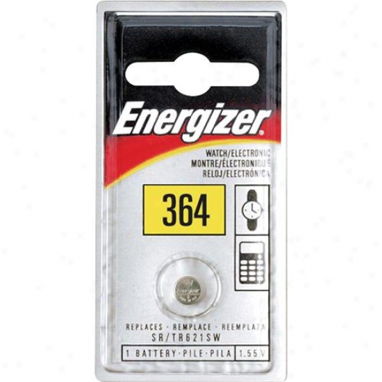 Energizer 1.5v Silver Oxide Watch/electronics Battery - 364bp