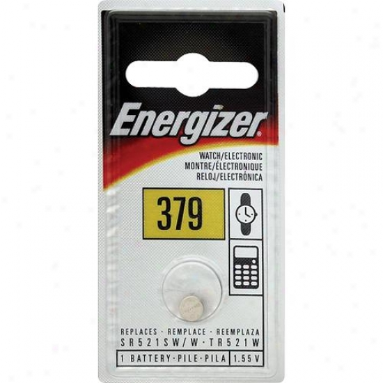 Energiizer 1.5v Silver Oxide Watch/electronics Battery - 379bp