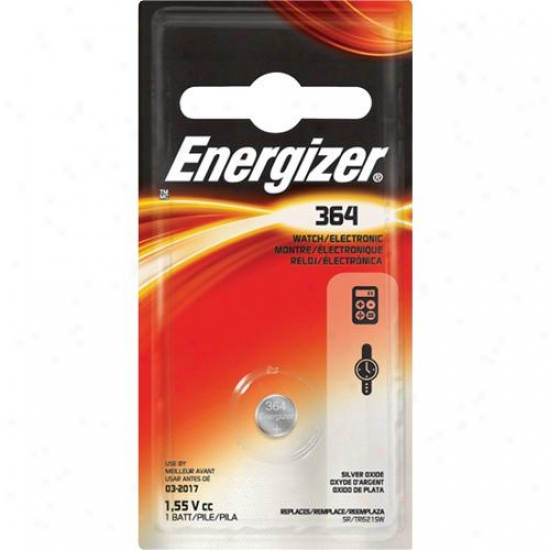 Energizer 364 Silver Oxide Watch And Electronics Battery ( Sr621sw )
