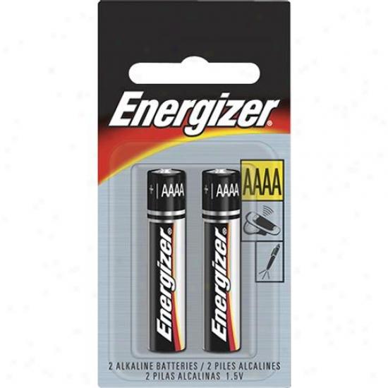Energizre E96bp2 E96 Aaaa Battery - 2 Pack