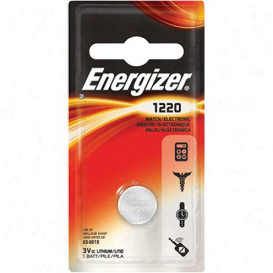 Energizer Ecr1220bp 3v Lithium Button Battery