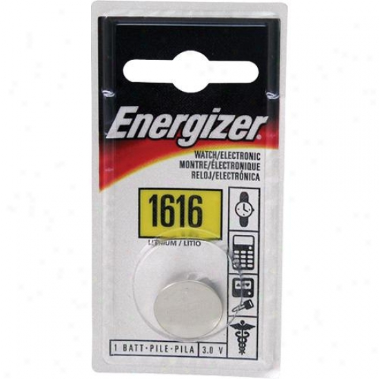Energizer Ecr1616bp Cr1616 3v Button Battery