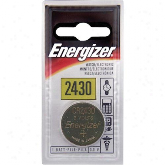 Energizer Ecr2430bp 3v Lithium ButtonB attery