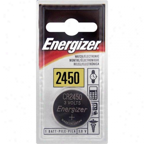Energizer Ecr2450bp Cr2450 3v Button Battery