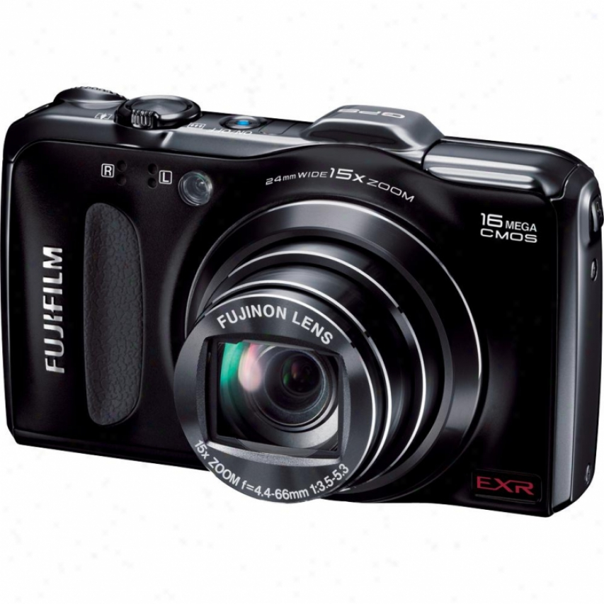 Fuji Film Finepix F600exr 16 Megapixel Digital Camera - Black