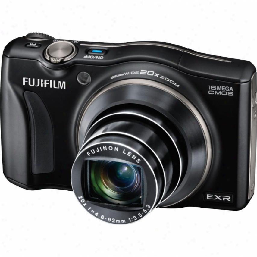 Fuji iFlm Finepix F750exr 16 Megapixel Digital Camera - Black