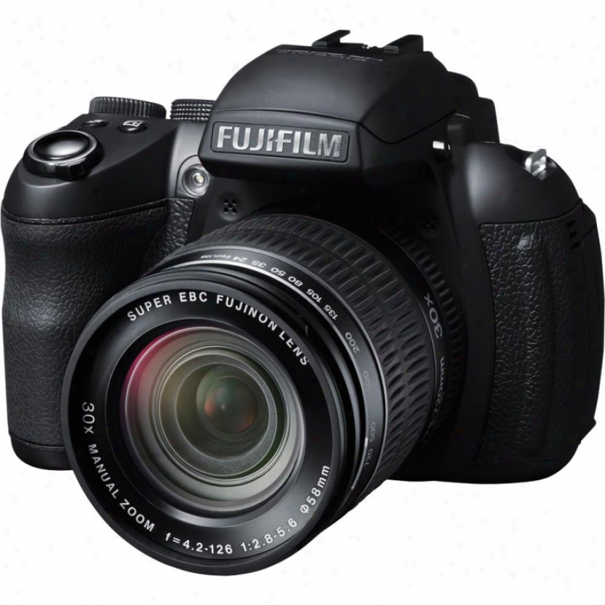 Fuji Film Finepix Hs30exr 16 Megapixel Digital Camera - Black