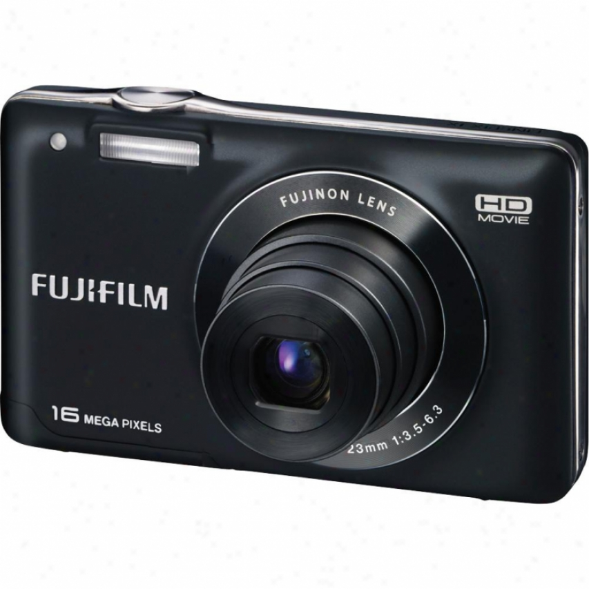 Fuji Film Finepix Jx580 16 Megapixel Digitwl Camera - Black