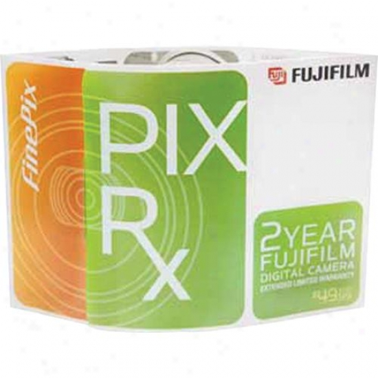 Fuji Film Finepix-rx 2-year Limited Extension Warranty For Finepix 100fd