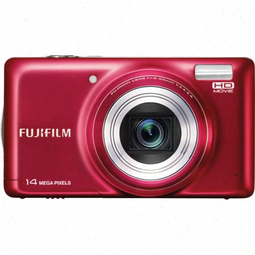 Fuji Film Finepix T350--red
