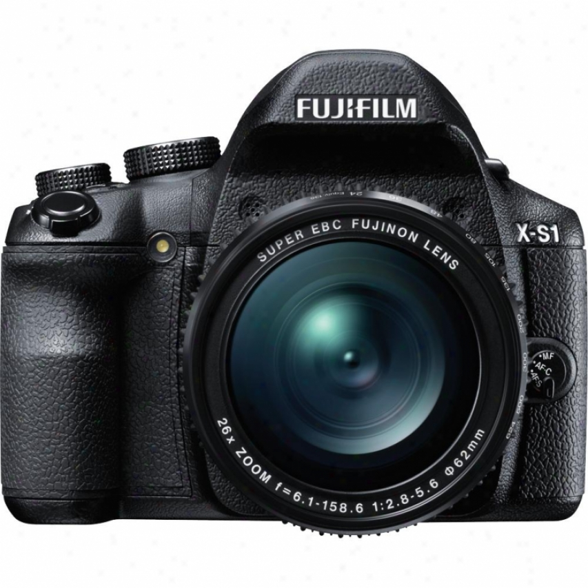 Fuji Film Finepi X-s1 12 Megapixel Digital Camera Black