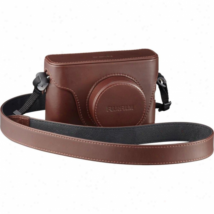 Fuji Film Finepix X100 Leather Camera Case Lcx100 - Brow