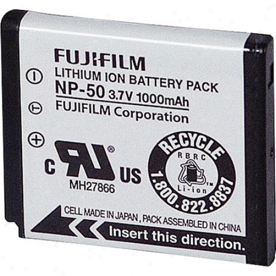 Fuji Film Np-50 Lithium Ion Rechargeable Battery For Fuji F50fd Digital Cameras