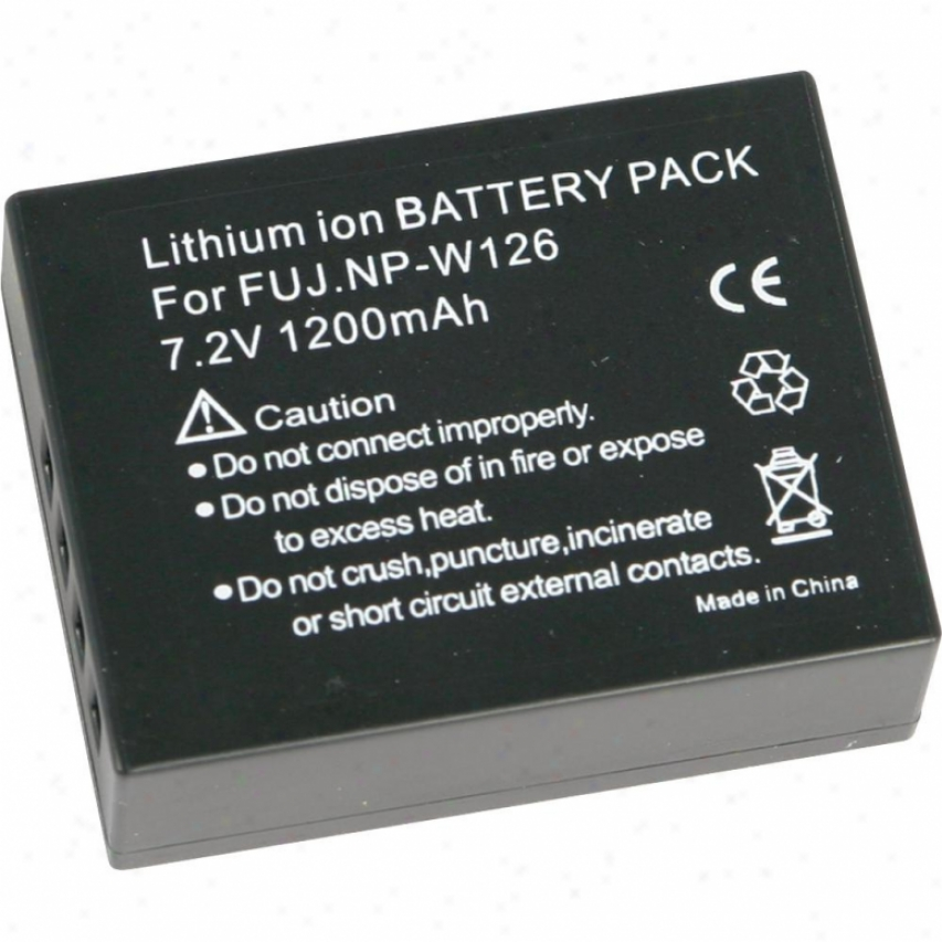 Fuji Film Np-w126 Litihum Ion Rechargeable Battery