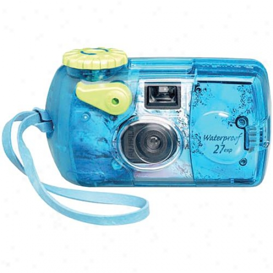 Fuji Film Qswater - Quicksbap Waterproof One-use Camera [800 Film]