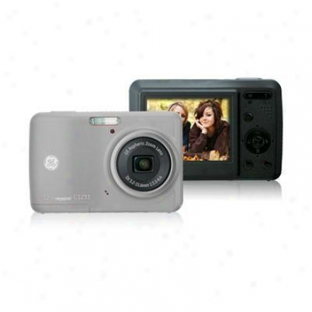 General Electric 12 Megapixel Digital Camera - Silver