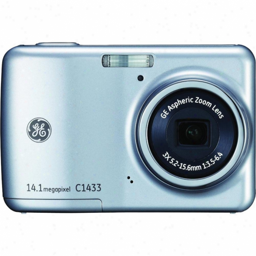 "Genera lElectric 14 Mp Dig Cam 3x 2.4"" Lcd-slv"