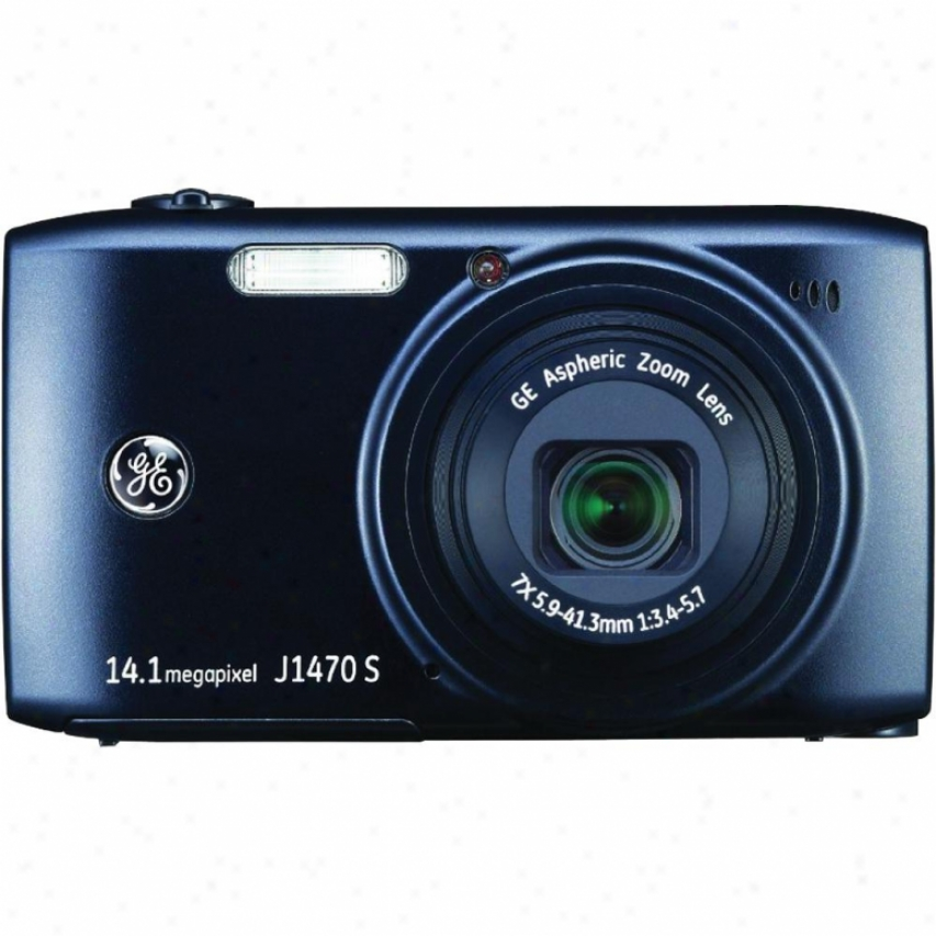 "General Electric 14 Mp Dig Cam 7x 3.0"" Lcd-blk"