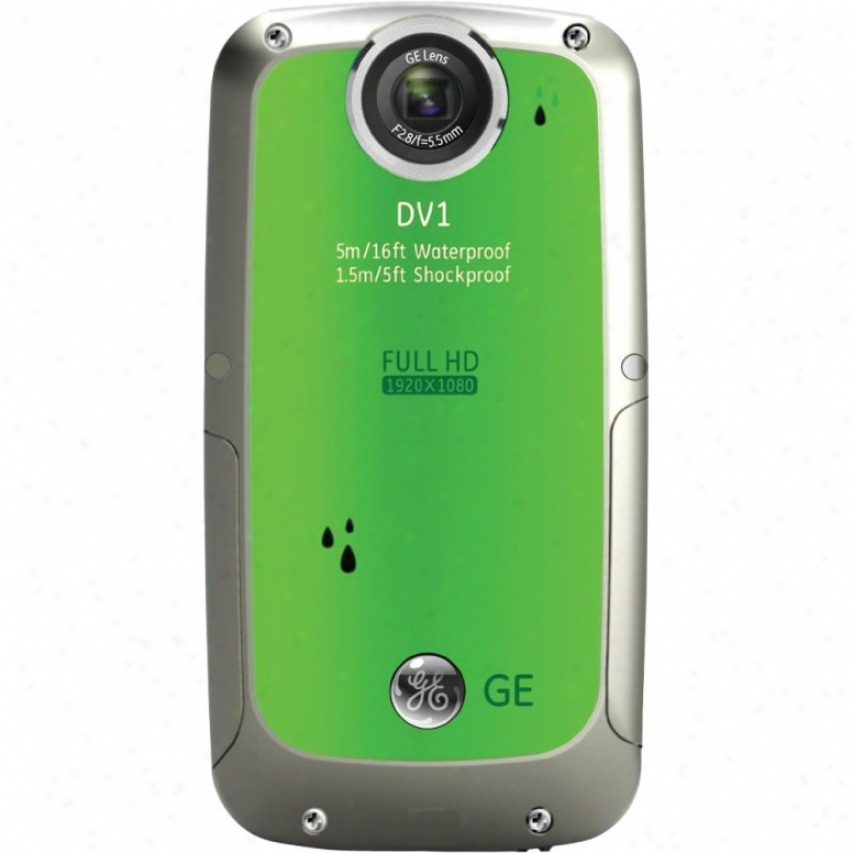 General Electric 5mp Wp Hd Dig Camcorder-green