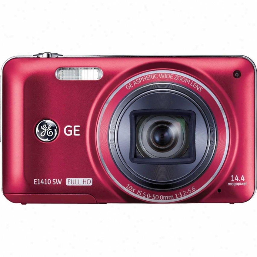 General Electric E1410sw -hd 14mp 10x Cmos-red