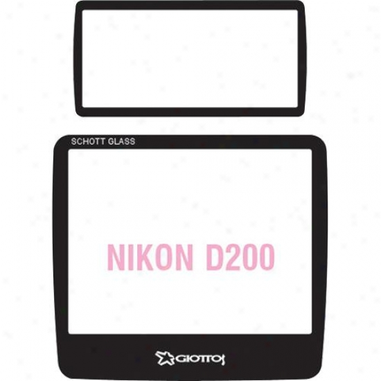 Giotto Sp8255 Aegis Screen Protector Nikon D2000 Top And Bottom