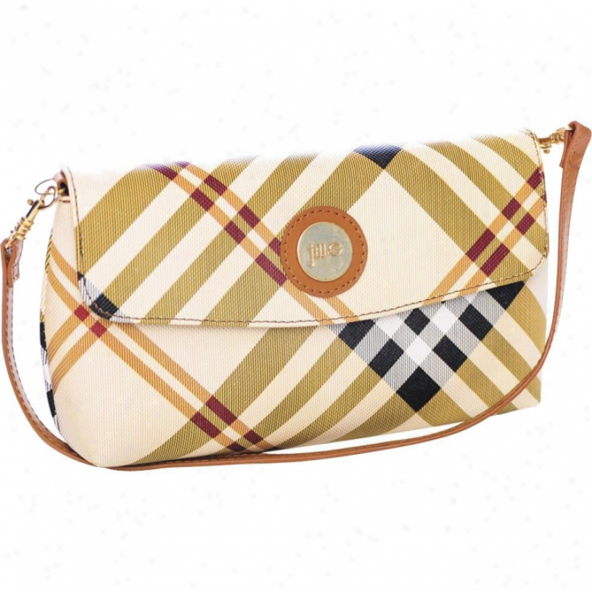 Jill-e Designs Essential Wristlet - Tan Plaid - 340900