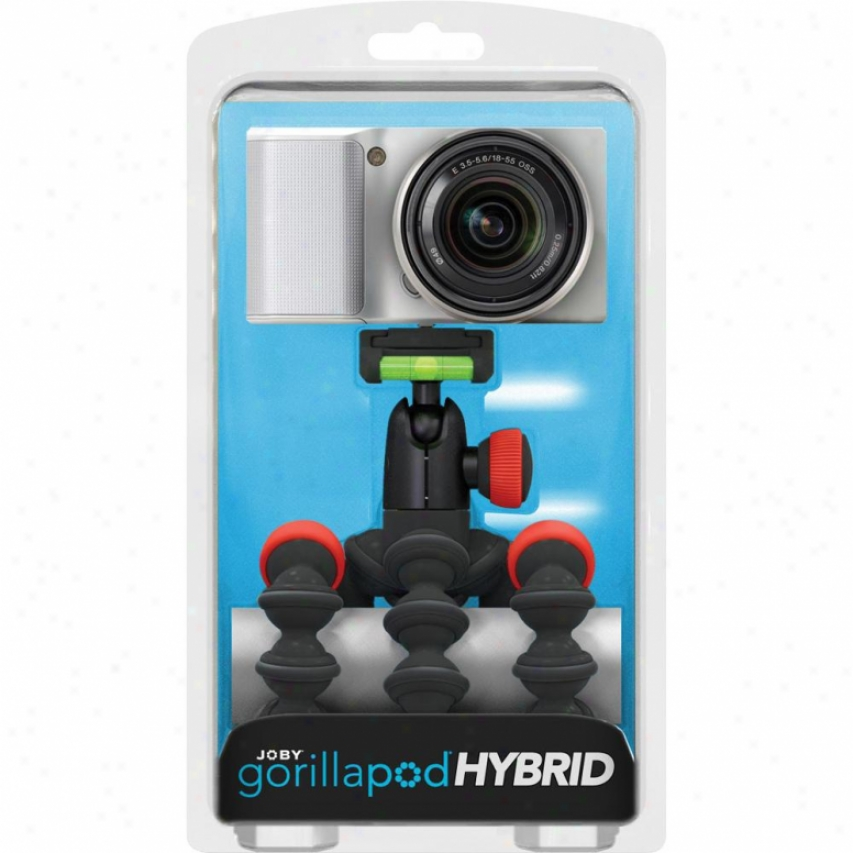Joby Gorillapod Hybrid Black/red
