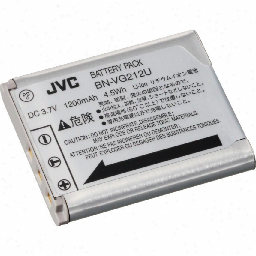 Jvc Bn-vg212 Replacement Battery For V/vx Series Camcorders