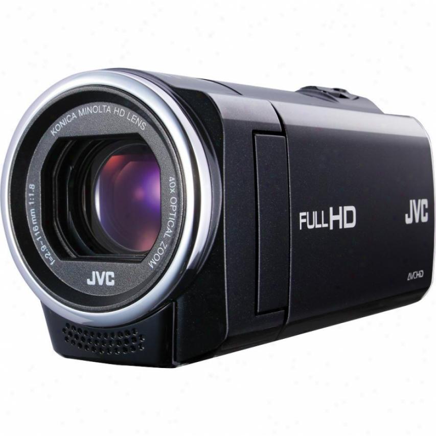 Jvc Everio Gz-e10 Avchd High Definition Camcordrr Black