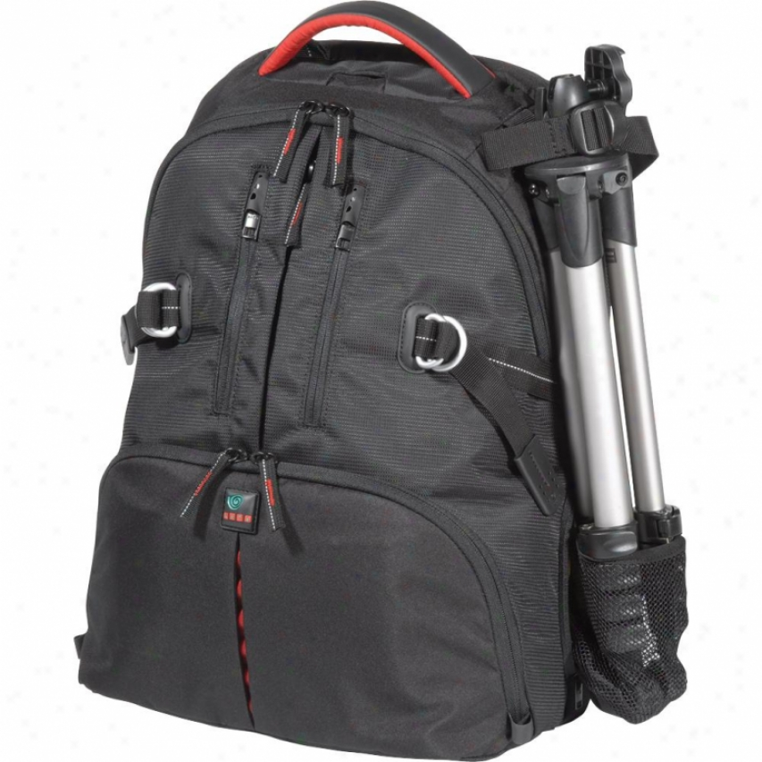 Kata Dr-467ibr Digital Rucksack - Black With Red Trim