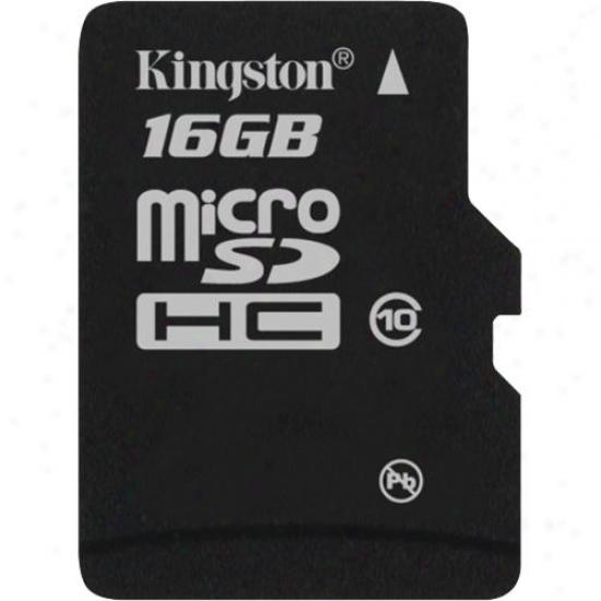 Kingston 16tb Microsdhc (class 10) High Capacity Micro Secure Digital Card