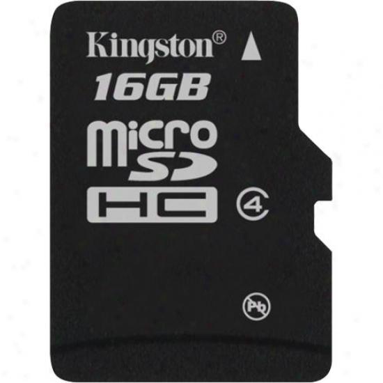 Kingston 16gb Microsdhc (class 4) Micro Secure Digital Card