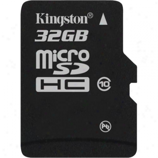 Kingston 32g bMicrosdhc (class 10) High Capacity Micro Secure Digital Card