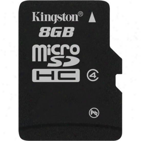 Kingston 8gb Microsdhc (class 4) Micro Secure Digital Card