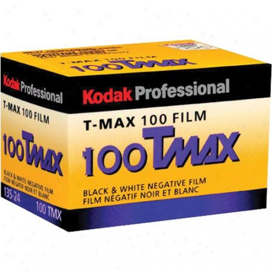 Kodak 100 Tmax Professional Iso 100 35mm 24-exposure Black & White Film