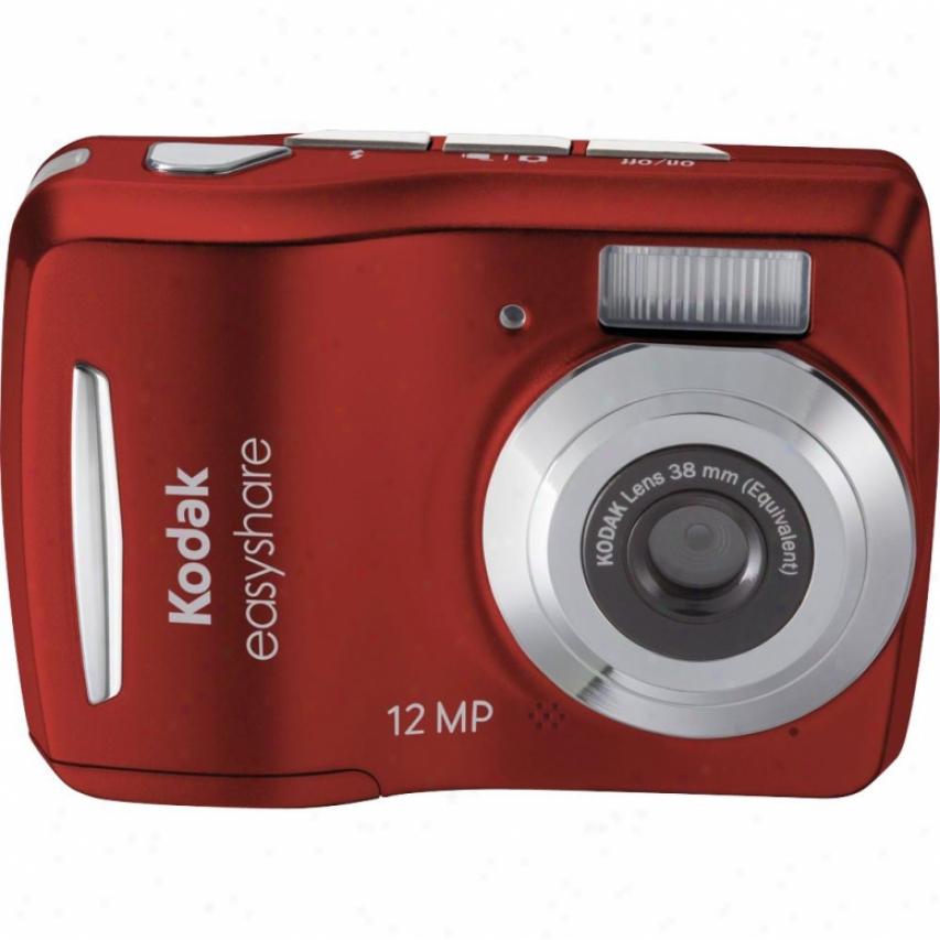 "Kodak C1505 12mp-5x Dig Zm-2.4""-red"