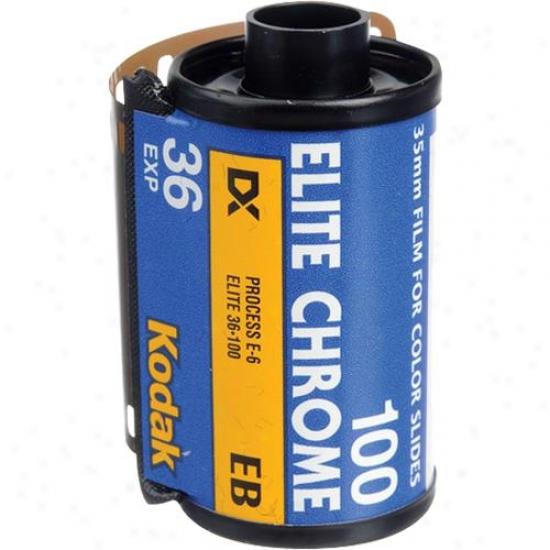Kodak Elite Chrome 100 Film For Color Slides For 35mm Camera