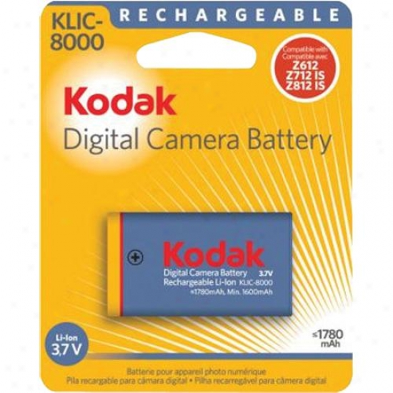 Kodak Li-ion Klic-8000 Batteries