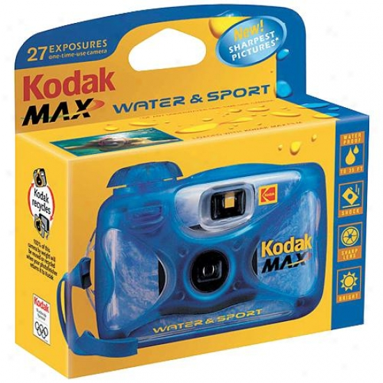 Kodak Max Water & Sport One-time Use Camera