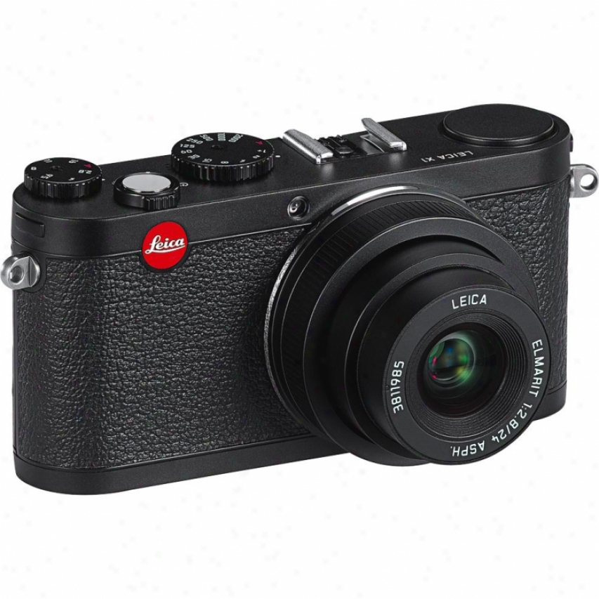 Leica X1 12 Megapixels Digital Camera - Black