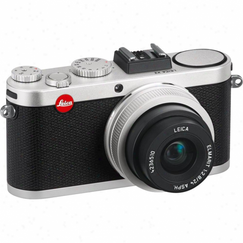 Leica X2 16 Megapixel Digital Camera - Silver