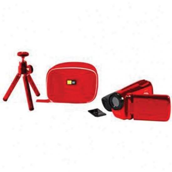 Lifeworks Colorpix Camera Bundle Red