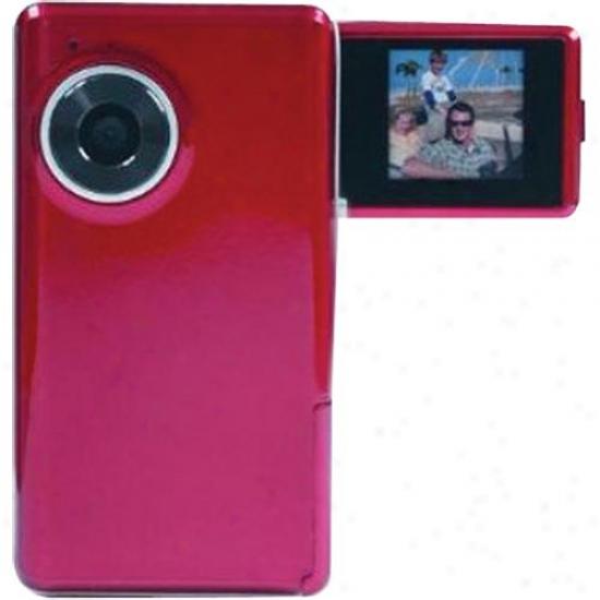 Lifeworks Colorpix Handheld Digital Video Camera Red Lw-dv314fr