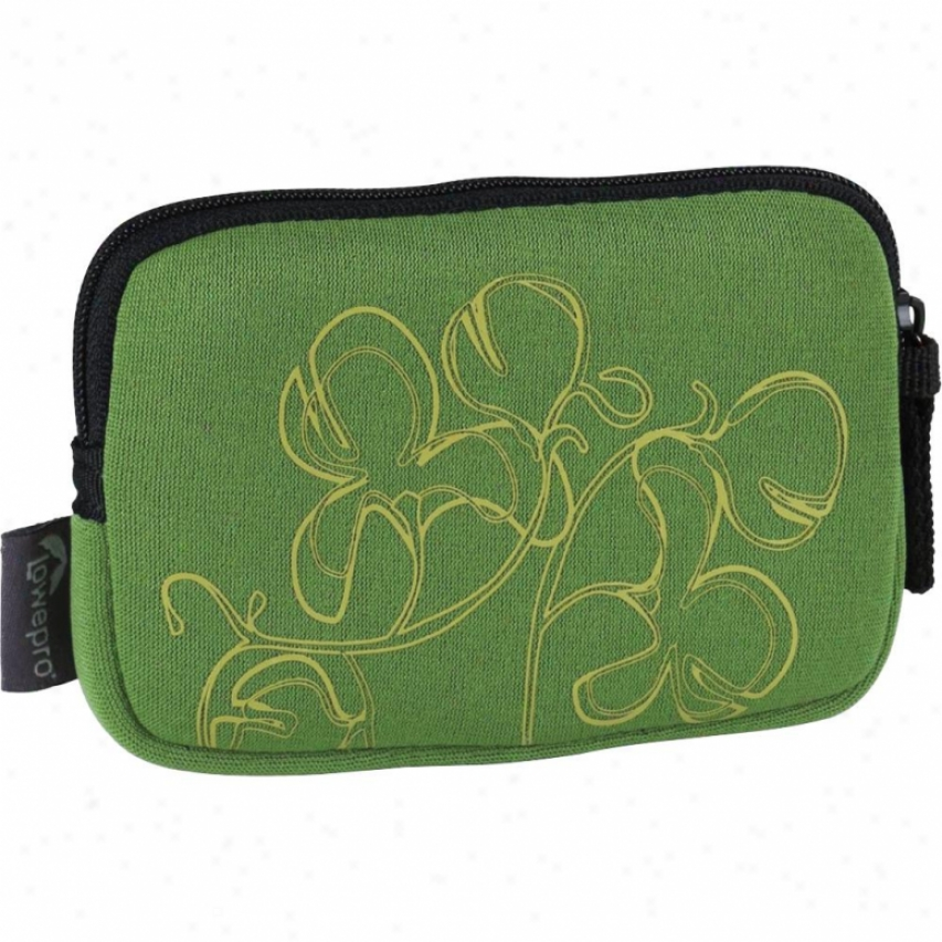 Lowepro Melbourne 10 Stretchy Neoprene Camera Case - Fern Floral