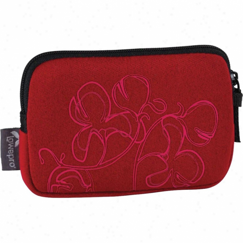 Lowepro Melbourne 10 Stretchy Neoprene Camera Case - Red