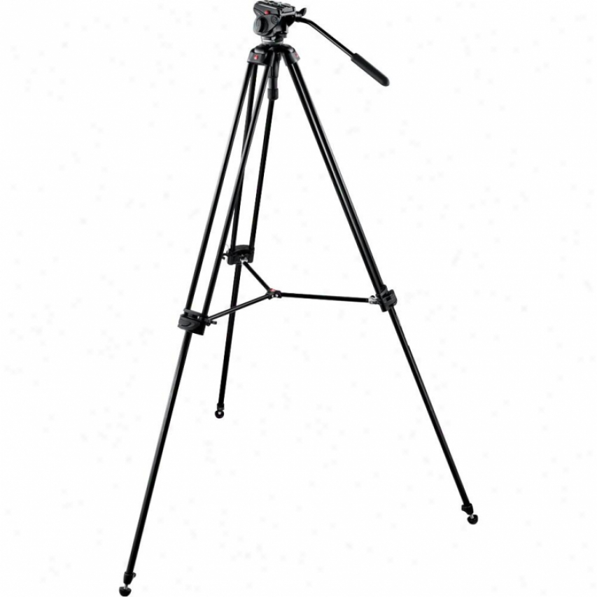 Manfrotto 547b Video Tripod System Kit With 701hdv Fluid Video Head