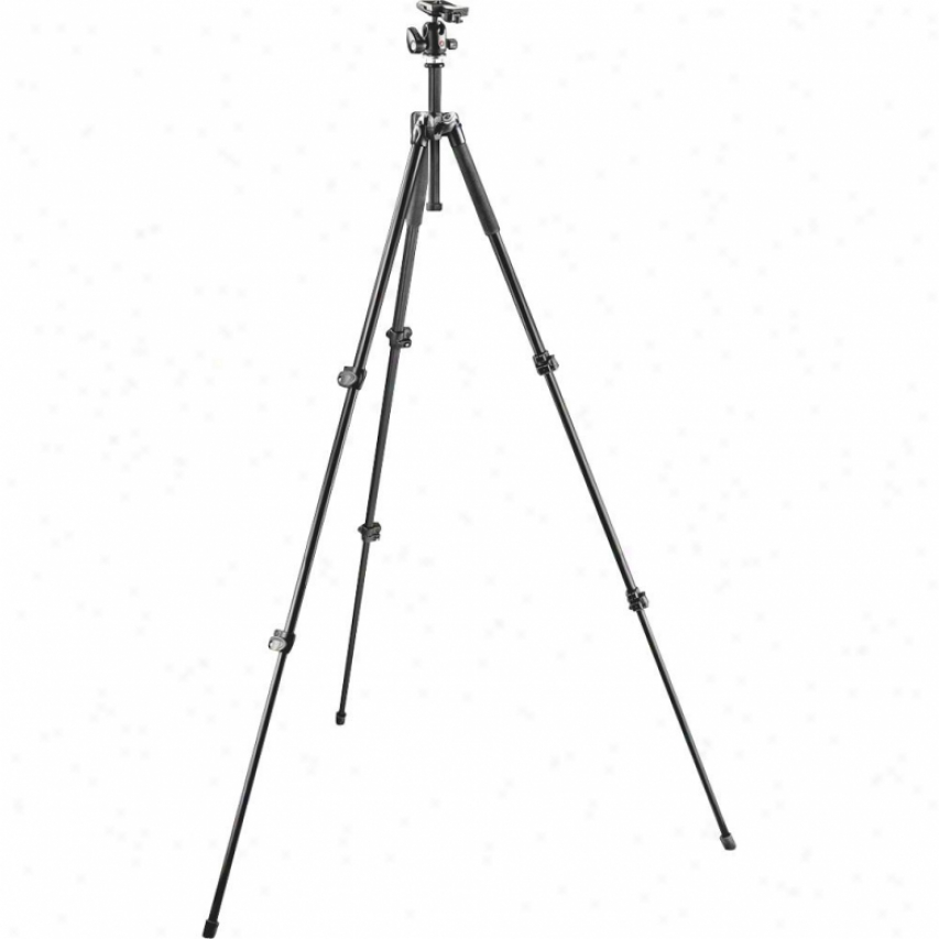 Manfrotto Bogen 293 Aluminum 3 Section Tripod With Quick Release Ball Head Mk293